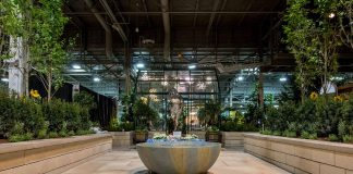 """Gilstorf & Gray of Bobcaygeon was one of the partners that assisted Modern Landscape Designers in staging the award-winning """"Midnight in Paris"""" garden at Canada Blooms 2018. (Photo: Modern Landscape Designers)"""
