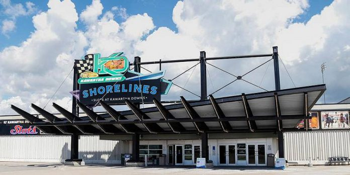 The Shorelines Slots generates 85 per cent of the revenue for Kawartha Downs, subsidizing its harness racing. The slots are moving to the new Shorelines Casino in Peterborough, leaving the financial viability of the racetrack in question. (Photo: Shorelines Casinos)