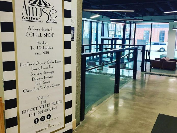 Amuse Coffee Co.'s pop-up location at VentureNorth. (Photo: Amuse Coffee Co. / Instagram)