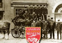 The Canadian Fire Fighters Museum, which launched in Port Hope in 1984, will not open this year. The museum's current Mill Street South building is scheduled to be torn down this spring for excavation and removal of soil contaminated by low-level radioactive waste. The museum will be seeking a new location for its collection of historical firefighting and fire-related artifacts, which have been moved into temporary storage. (Image: Canadian Fire Fighters Museum)