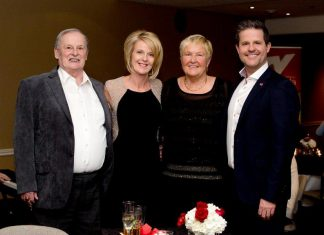 Trent Valley Honda founder Frank Mandeljc with his daughter and current owner Monika Carmichael, his wife Elfrieda, and his son and used car manager Frankie Mandeljc. (Photo: Trent Valley Honda)