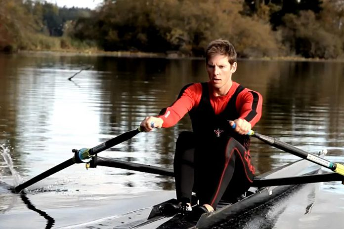 "Peterborough resident Jeremiah Brown has written ""The 4 Year Olympian"", documenting his four-year journey from a novice rower to an Olympic medalist. (Photo courtesy of Jeremiah Brown)"