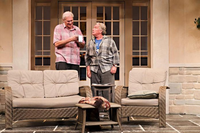 """Jonas and Barry in the Home"" is about two seniors who meet in an assisted living home and stars Norm Foster as Jonas and David Nairn as Barry.  (Photo: Drayton Entertainment)"