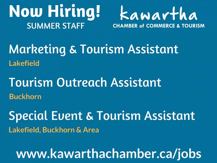 Chamber 2018 summer staff positions