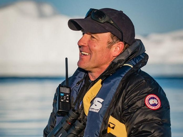 Canada C3 founder and expedition leader Geoff Green will deliver the 2018 Wipper Lecture at The Canadian Canoe Museum on April 11, 2018. (Photo: Martin Lipman)