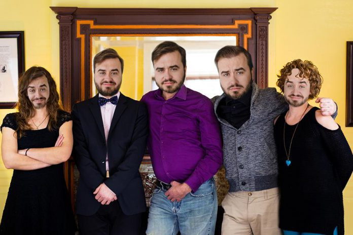 Adam Martignetti, who took the group photo of LLAADS featured in this story, apparently felt left out and supplied kawarthaNOW with this alternate version. (Photo: Adam Martignetti)