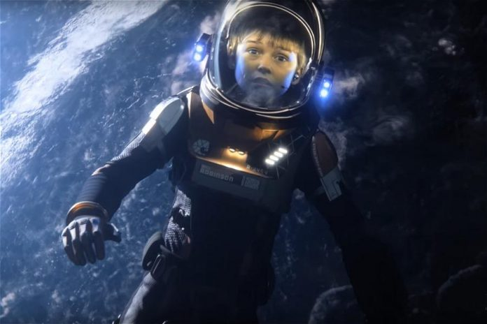 Danger Will Robinson! The Robinson family gets Lost In Space again as Netflix reboots the iconic 1965 TV series, premiering on April 13, 2018. (Photo courtesy of Netflix)