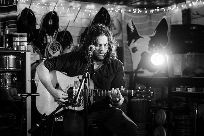 Windsor-area singer-songwriter and acoustic guitarist Max Marshall brings his original folk/country blues/ragtime to the Arlington Pub in Maynooth on Tuesday, March 13. (Photo: Amy Pelow)