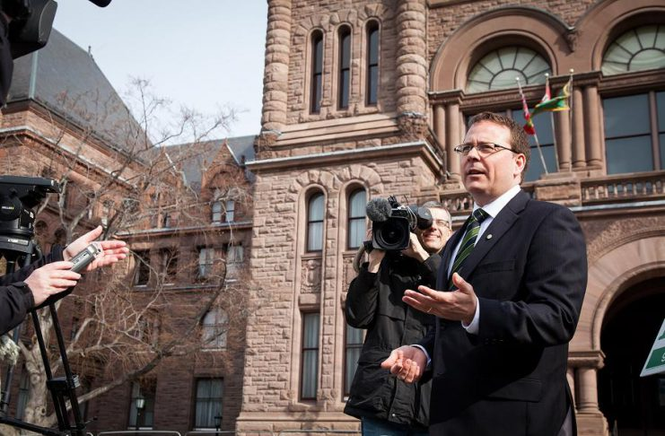 Mike Schreiner, leader of the Green Party of Ontario, will visit Peterborough on March 24, 2018. (Photo: Green Party of Ontario)