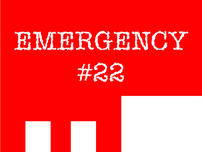 Emergency #22 is presented in three programs at Market Hall Performing Arts Centre and The Theatre on King in downtown Peterborough from March 22 to 24, 2018.