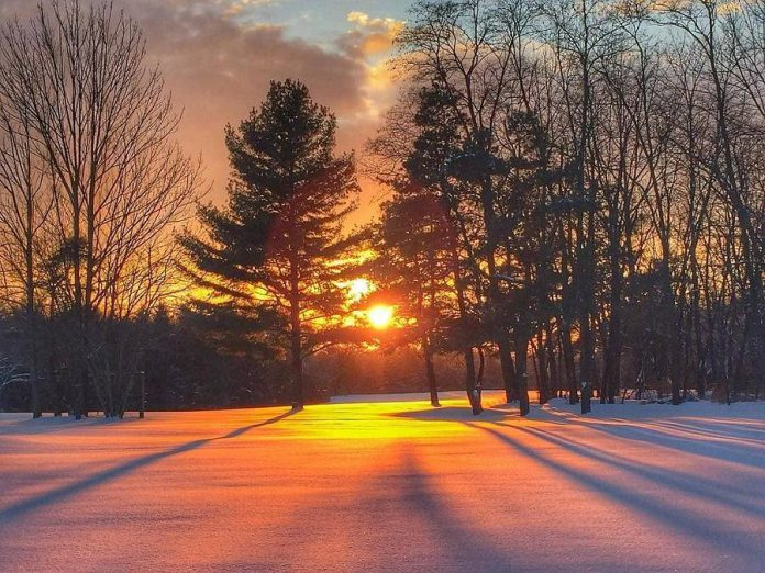 Our most popular photo on Instagram during February, with more than 7,000 views, was this sunset by Rachel Patrick of Clarington. (Photo: Rachel Patrick @rachelpatrick123 / Instagram)