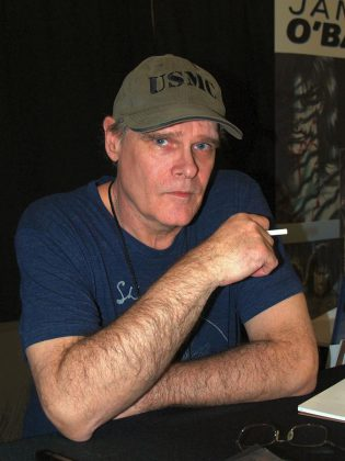 """""""The Crow"""" creator James O'Barr at the East Coast Comicon in 2016.  He will be attending the Peterborough Comic Con on April 22, 2018. (Photo: Luigi Novi / Wikimedia Commons)"""