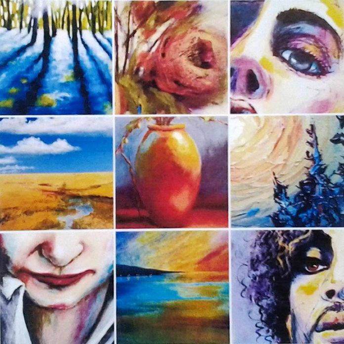 'Colour Drunk' is a series of paintings by Peterborough artist Chey Greig. (Photo courtesy of Acme Art & Sailboat Co.)