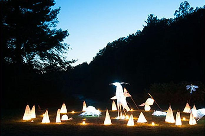 The Arts and Heritage Centre is presenting a two-day lantern-making workshop on May 12 and 13. (Photo courtesy Arts and Heritage Centre of Warkworth)