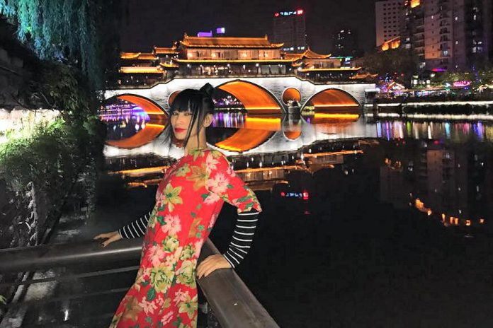 """Chinese actress Bai Ling has appeared in several movies and television shows, including the film adaptation of """"The Crow"""". She will be attending the Peterborough Comic Con on April 22, 2018. (Photo: Bai Ling)"""