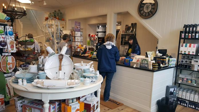 When Kawartha Coffee vacated the location to move across the street, Bigley's owner Sherry Peel says it was a perfect opportunity for Bigley's to move the Cottage Kitchen store into that location as its adjacent to their men's wear store. (Photo: Jeannine Taylor / kawarthaNOW.com)