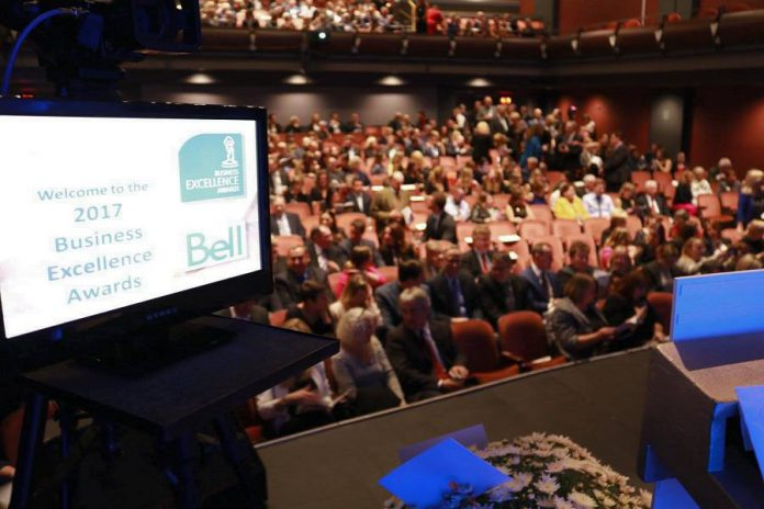 Nominations are open for the Peterborough Chamber of Commerce's 15th Annual Peterborough Business Excellence Awards. The awards ceremony on October 17th will take place again this year at Showplace Performance Centre. (Photo: Peterborough Chamber of Commerce)
