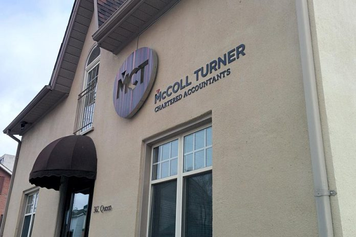The McColl Turner team will remain in their current location at 362 Queen Street in downtown Peterborough. (Photo: Bruce Head / kawarthaNOW.com)