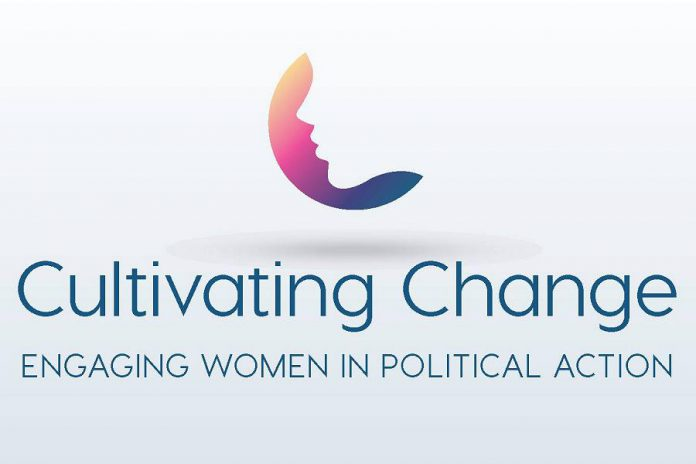 """Cultivating Change: Engaging Women In Political Action"" was held on April 26, 2018 at the Ashburnham Reception Centre in Peterborough."