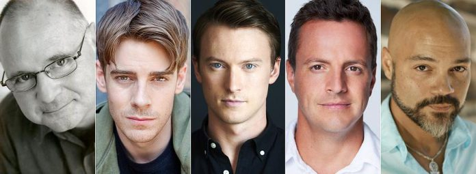 "Canadian stage, television, and film actors Derek McGrath, Jeff Lillico, Jesse LaVercombe, Sergio Di Zio, and Troy Adams appear in the staged reading of ""Angels in America""."