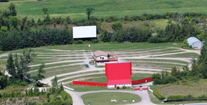 The Lindsay Drive-In is the only two-screen drive-in in the Kawarthas.  (Photo: Lindsay Drive-In)