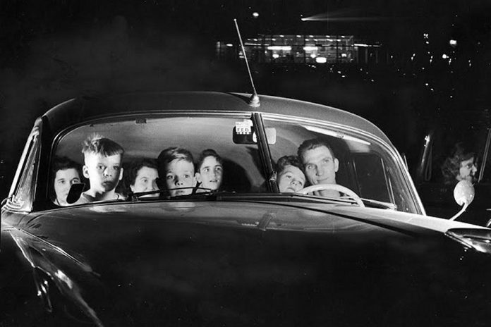 During their peak in the late 1950s and early 1960s, there were more than 4,000 drive-in theatres in the U.S. and 250 in Canada. Drive-ins were popular because they offered affordable family entertainment.