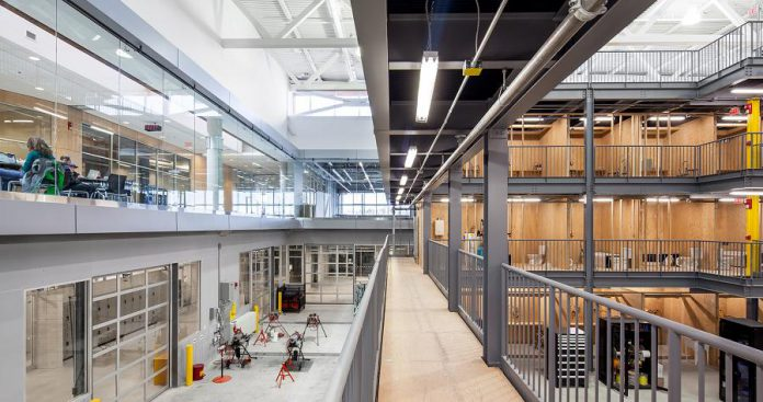 The Kawartha Trades and Technology Centre (KTTC) at Fleming College. (Photo: Scott Norsworthy)