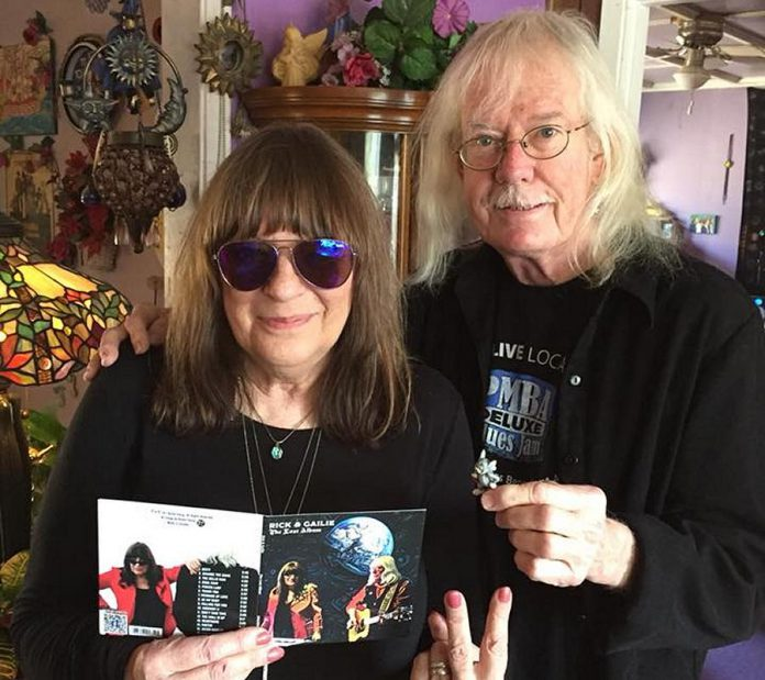 "Peterborough musicians Gailie and Rick Young have some good news to share: not only was their debut record ""The Lost Album"" praised by music critic and author Bob Mersereau, but Rick is now cancer free. (Photo courtesy of Rick and Gailie)"