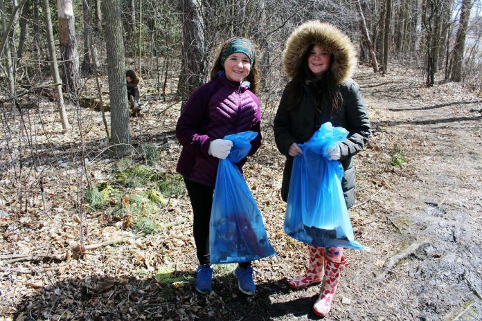 The King George Public School students have a keen understanding about litter and its harmful effects on the environment and on wildlife. (Photo courtesy of GreenUP)