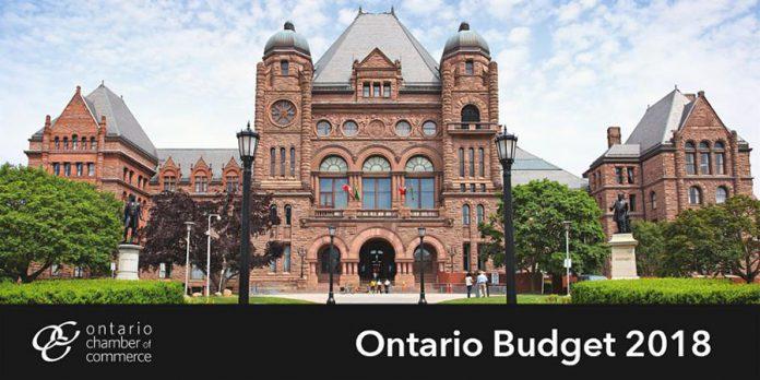Ontario Budget 2018 - OCC