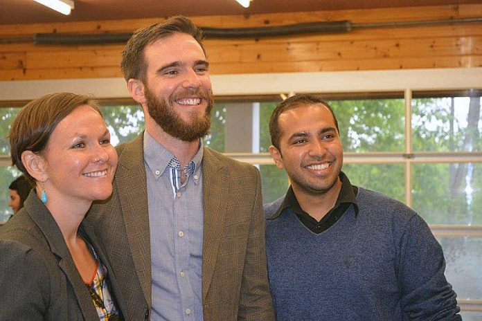 Locavorest founders Megan Boyles, Mark Kirton, and Vinay Viswanathan. (Photo: Locavorest)