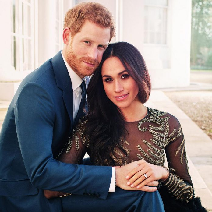 Prince Harry and Meghan Markle will wed on May 19th. (Photo: Kensington Palace)
