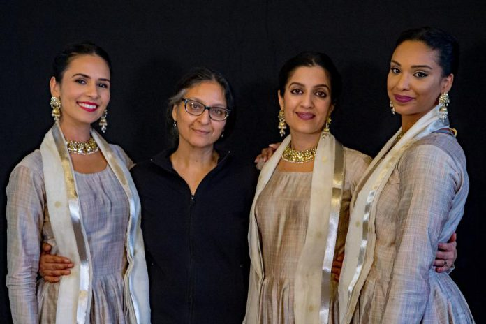 "Choreographer Deepti Gupta (second from left) with dancers Aasttha Khajuria, Parul Gupta, and Reshmi Chetram-Dav of Ottawa's Arzoo Dance Theatre. Gupta will perform her solo dance ""The Lion's Roar"". (Supplied photo)"