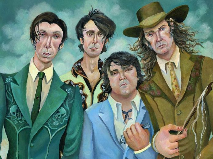 The Sadies have been described as Canada's greatest living rock band. (Illustration:  Jeremy Bruneel)