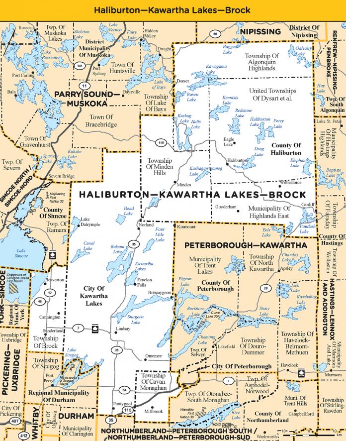 Haliburton-Kawartha Lakes-Brock electoral district