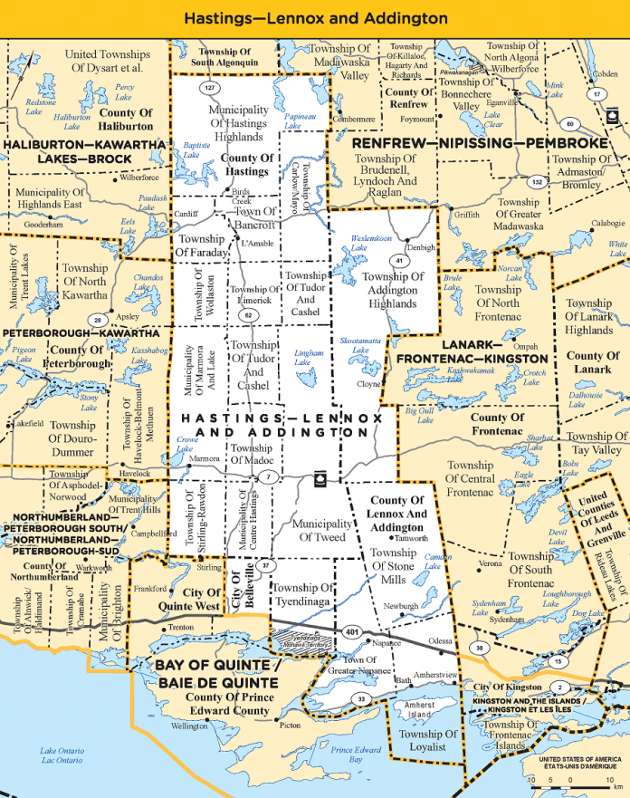 Hastings-Lennox and Addington electoral district
