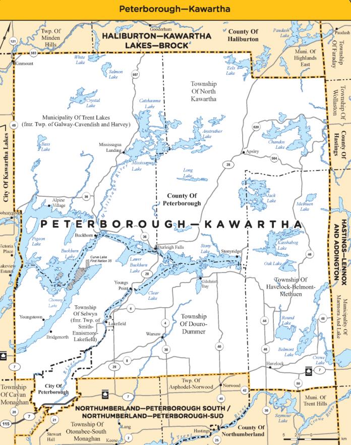 Peterborough-Kawartha electoral district