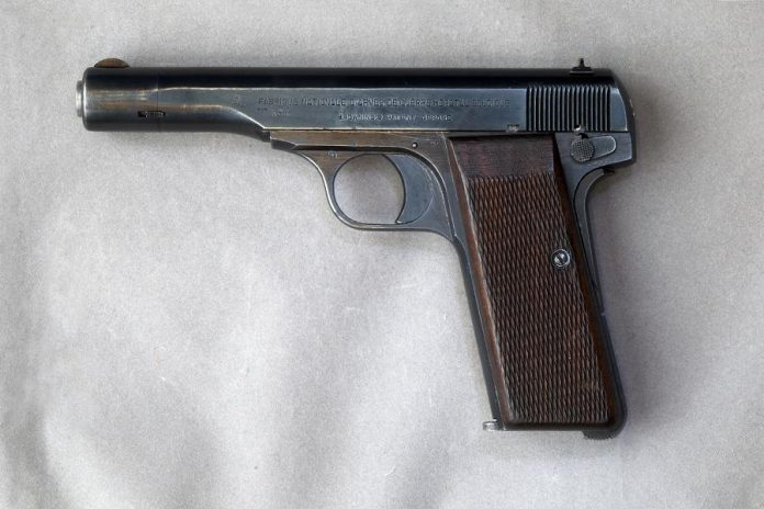 During the April gun amnesty, someone surrendered an FN Browning Model 1922 pistol, similar to the one shown here, to the Peterborough Police Service, who sent to the Hastings and Prince Edward Regimental Museum. (Photo: Wikipedia)