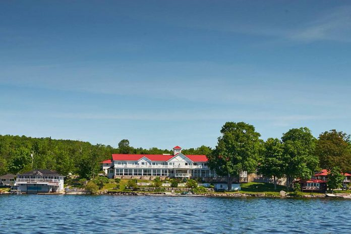 Viamede Resort on Stoney Lake. (Photo: Viamede Resort)
