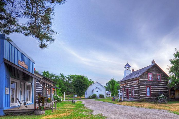 Kawartha Settlers' Village in Bobcaygeon is one of four attractions in the Kawarthas that are finalists in the 2018 Ontario's Choice Awards. Lang Pioneer Village in Keene, Ganaraska Treetop Trekking in Campbellcroft, and Westben Theatre in Campbellford are also finalists. You can vote for these and your other favourite attractions until the end of September, with the winners announced in October. (Photo: Kawartha Settlers' Village)