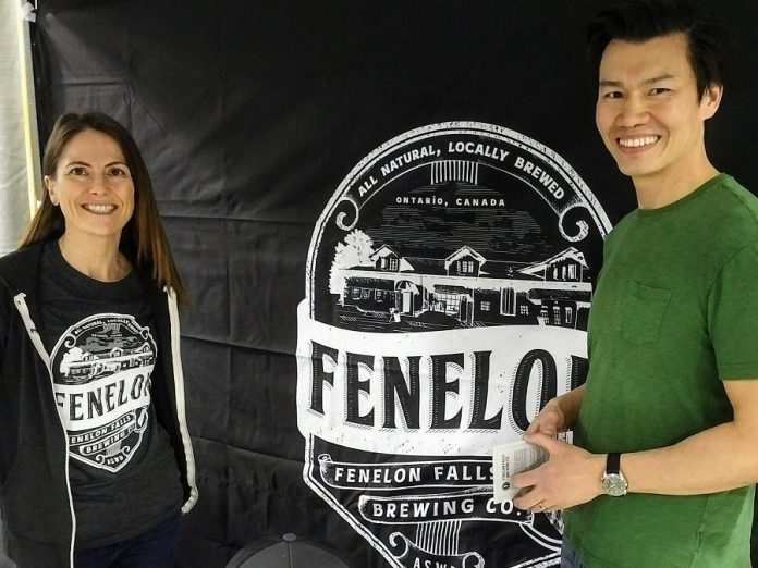 Agatha and Vinh Mac are in the process of opening the Fenelon Falls Brewing Co. In the meantime, you can taste their beer at local restaurants beginning on the May long weekend and at their Beer Release Party on June 15, 2018. (Photo courtesy of Fenelon Falls Brewing Co.)