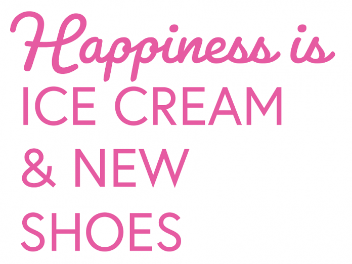 You can match your ice cream to your shoes at Bigley's Sweet Treats in Bobcaygeon. (Graphic:  Bigley's Sweet Treats)