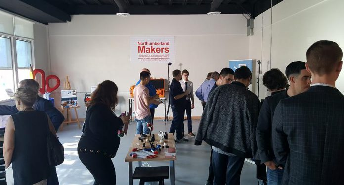 The MakerLab is supported by Northumberland Makers, a community organization that will use the space to teach applied skills and offer experiential learning. (Photo: Jeannine Taylor / kawarthaNOW.com)