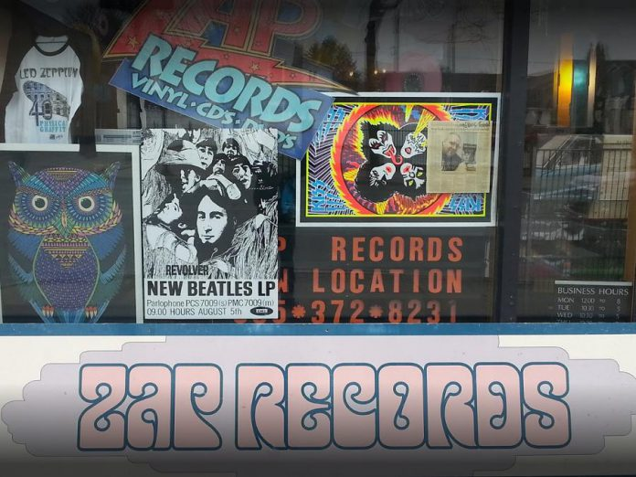 Cobourg's ZAP Records is opening a second location in downtown Peterborough, in the former Moondance record store, in June 2018. (Photo: Derek Bernat)