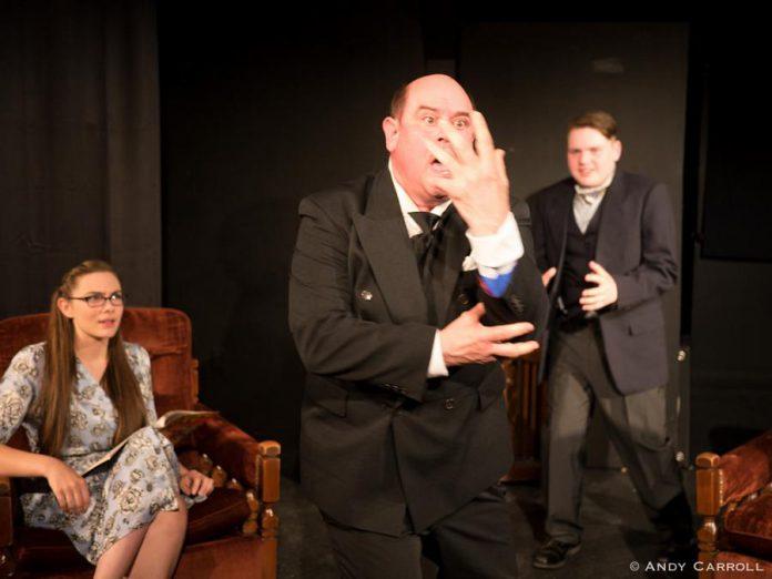 Aimee Gordon as Boo, Brad Brackenridge as The Mixer, and Tyrnan O'Driscoll as Shiny. (Photo: Andy Carroll)
