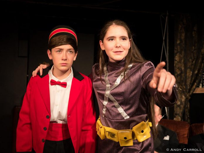 Abbie Dale as Kirby and Samuelle Weatherdon as Test Tube. (Photo: Andy Carroll)