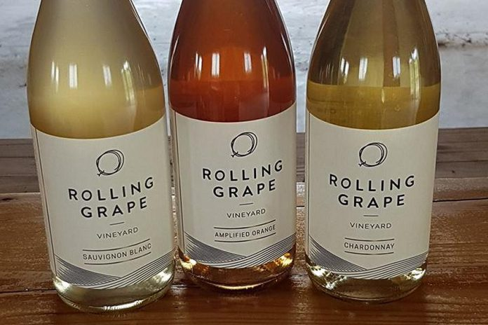 Rolling Grape, a vineyard and winery in Bailieboro, produces a Sauvignon Blanc, an Amplified Orange, and a Chardonnay as well as a Marquette. (Photo: Rolling Grape Vineyard / Facebook)