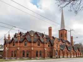 Developer Clear Global Capital Ltd. has purchased the historic St. Paul's Presbyterian Church in Peterborough. It was listed for sale in January with an asking price of $900,000. (Photo: Realty Executives Alison Ltd., Brokerage)