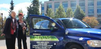 Kathy Doornenbal, who opened her Driving Miss Daisy franchise in Peterborough in 2009, has announced she is selling the franchise, which provides non-medical services for seniors and people with special needs. Her and her husband Bob Doornenbal will be moving back to Alberta. (Photo: Driving Miss Daisy)