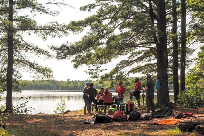 While previous retreats took place in the Kawartha Highlands, this year's new and improved Camp Startup will take place at Camp Kawartha, making the experience more accessible for participants and allowing for more intensive programming.  (Photo: Samantha Moss)